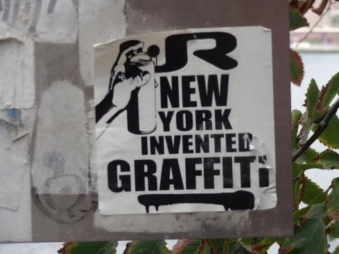 NY invented graffiti